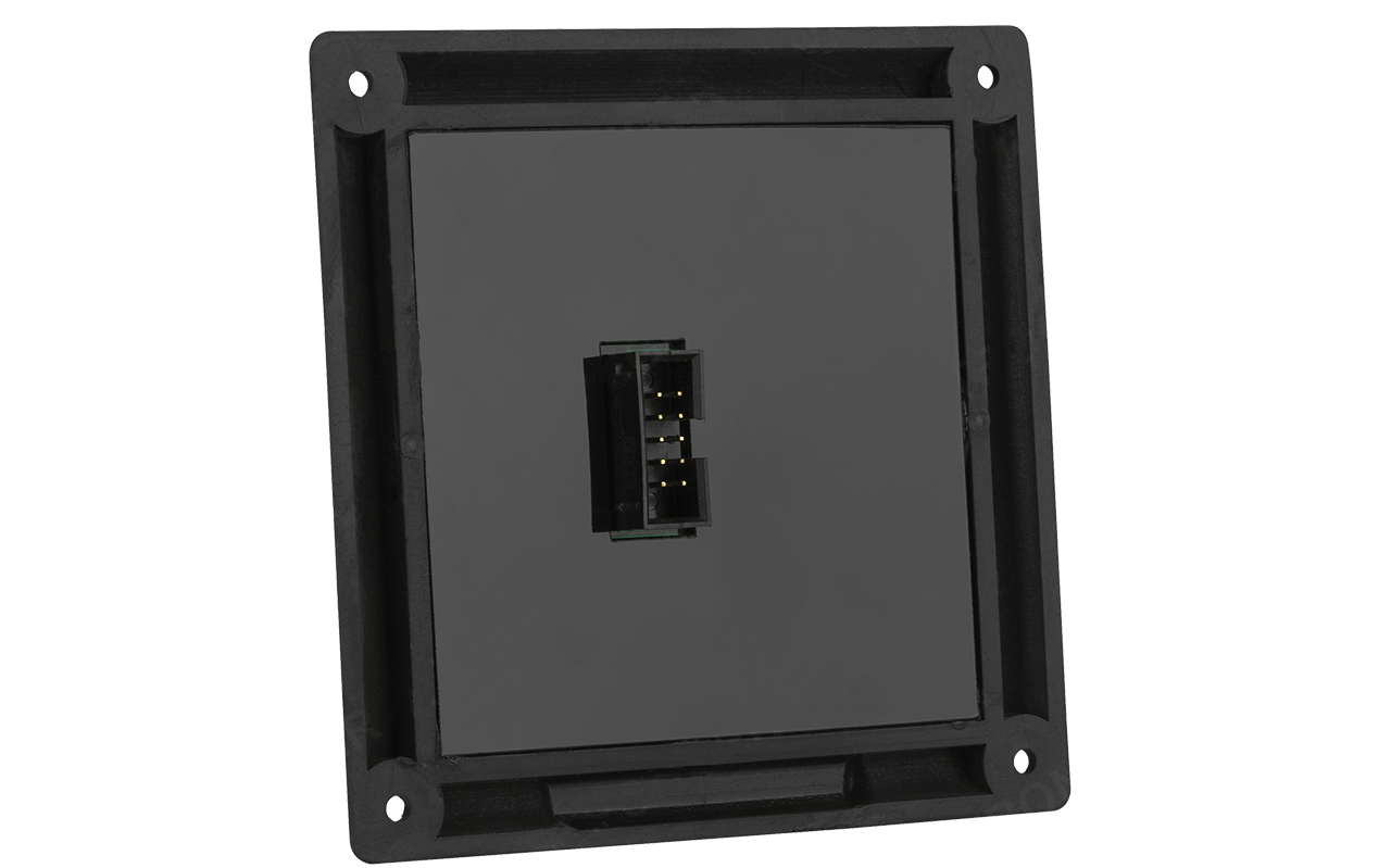 Manual control panel for the sonar position controller