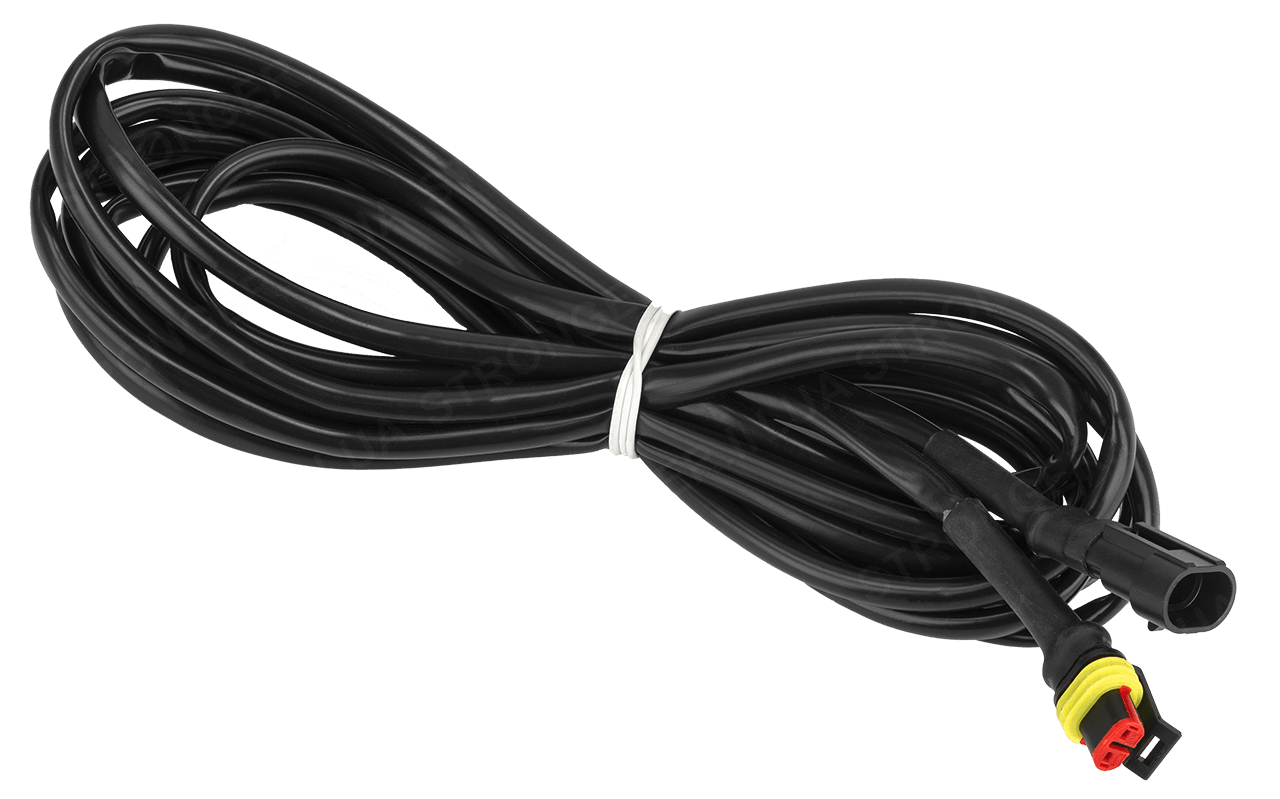 Extension cord for connection of the control panel and the remote button of the regulator