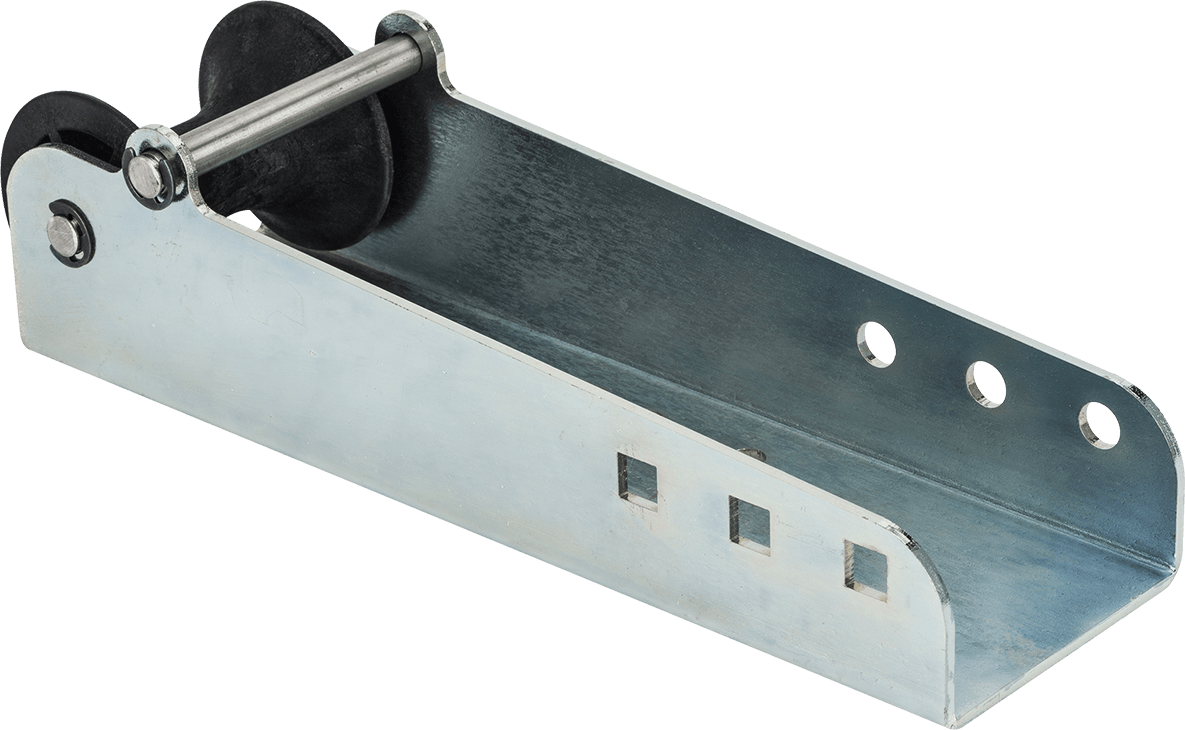 Extension roller Concealed winch