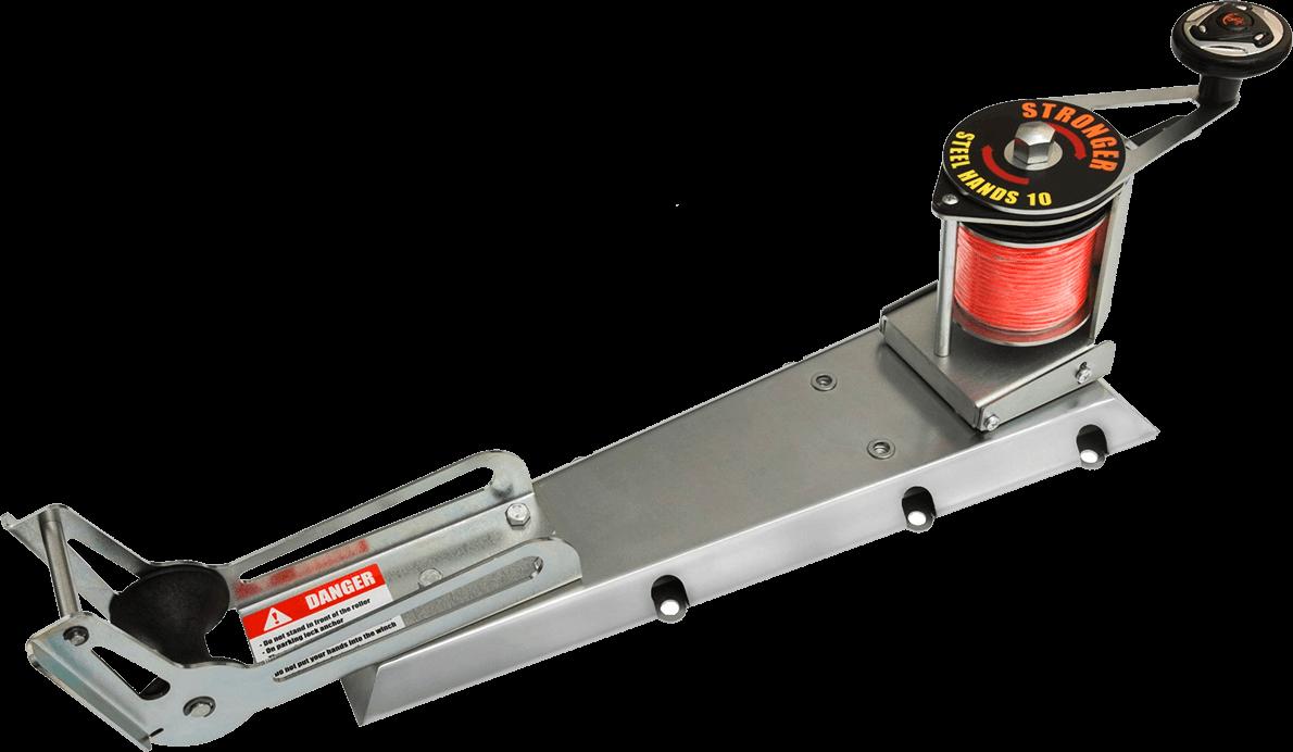 Platform for fastening on a boat