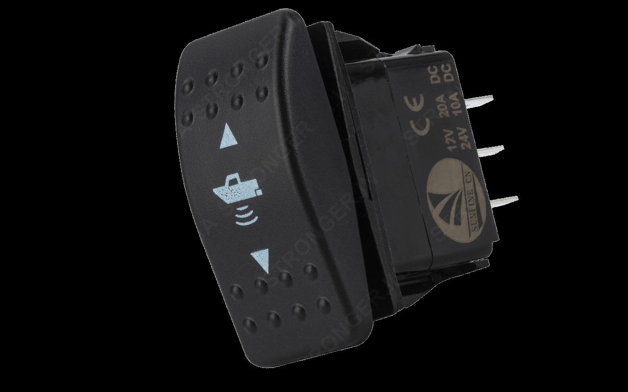 Sounder transducer horizontal position controller (PRO)
